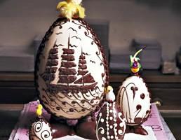 Jajka z czekolady
