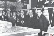 Wystawienie makiety, 11 października 1954 r.
