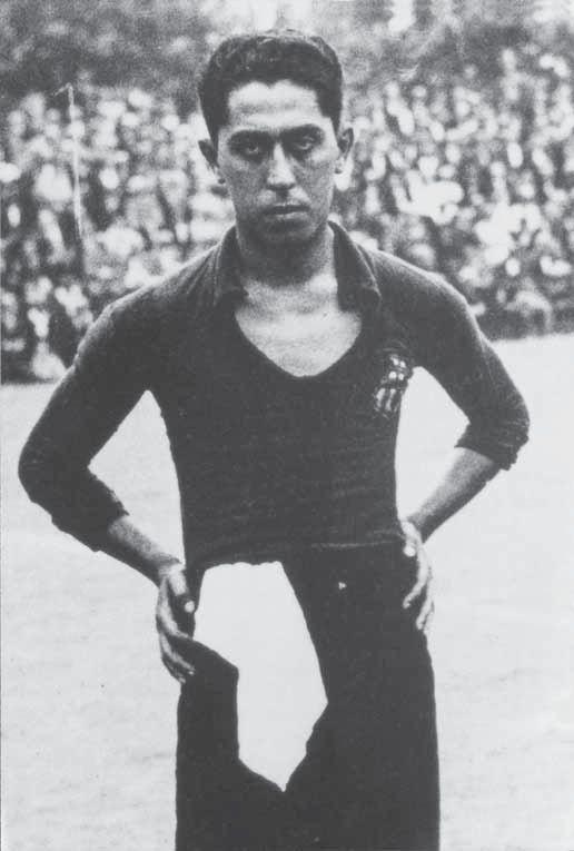 Paulino Alcántara, najlepszy strzelec  w historii Barcelony.
