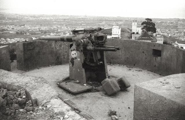 El Turó de la Rovira 75 lat temu.