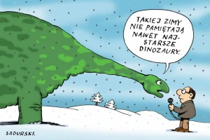 kolor-zima-dinozaur