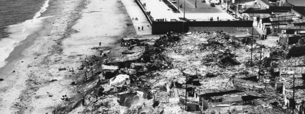 1966: Ostatnie baraki Somorrostro.