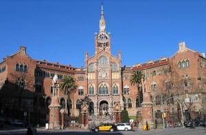 L'Hospital de la Santa Creu i Sant Pau.