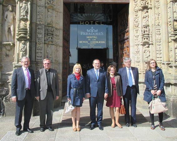 Visita del Embajador