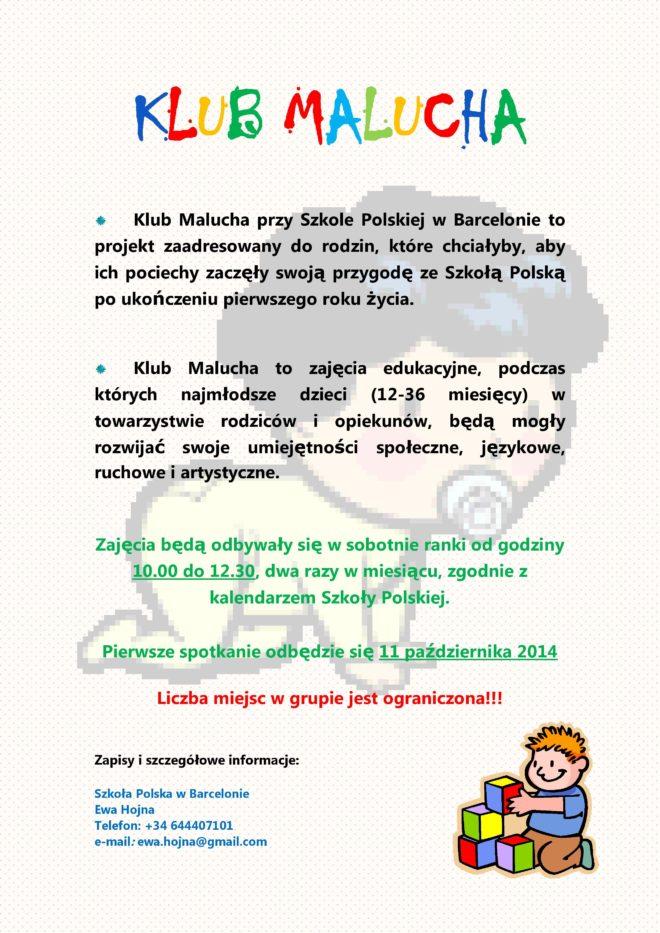KLUB MALUCHA Plakat (1)-page-001