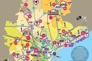 barcelona-mapa-atrakcje