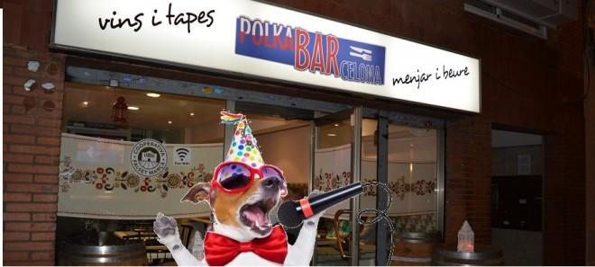 polka bar logo karaoke
