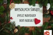 Wesołych Świąt! ¡Feliz Navidad!Bon Nadal!Merry Christmas! (1)
