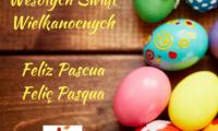 Wesołych Świąt WielkanocnychFeliz PascuaFeliç Pasqua2